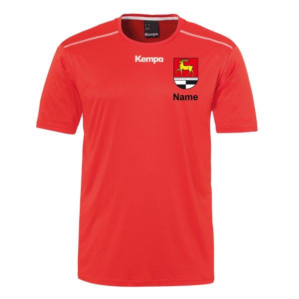 Poly Shirt inklusive Vereinsnamen / Vereinswappen und individuellem Namen