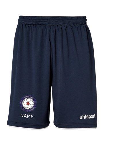 Club Shorts mit Vereinswappen von Fussballschule kleiner Heuberg