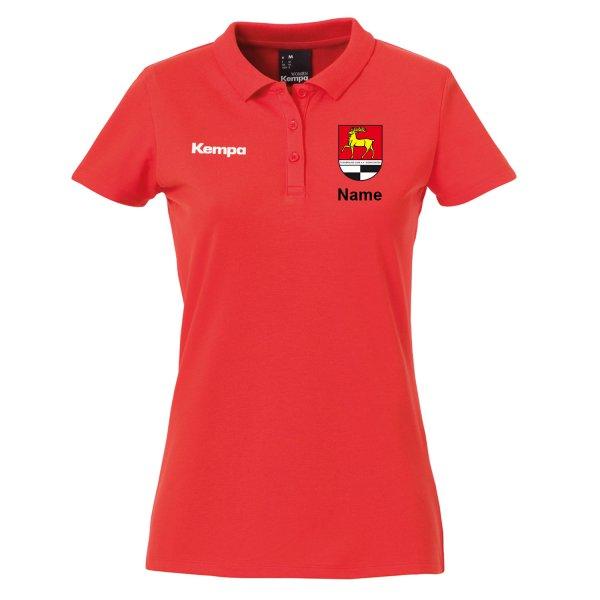 Classic Polo Shirt Women inklusive Vereinsnamen / Vereinswappen und individuellem Namen