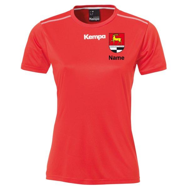 Poly Shirt Women inklusive Vereinsnamen / Vereinswappen und individuellem Namen