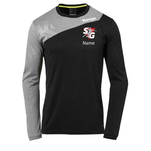 Core 2.0 Langarmshirt Inklusive Vereinsnamen / Vereinswappen sowie Individueller Namen
