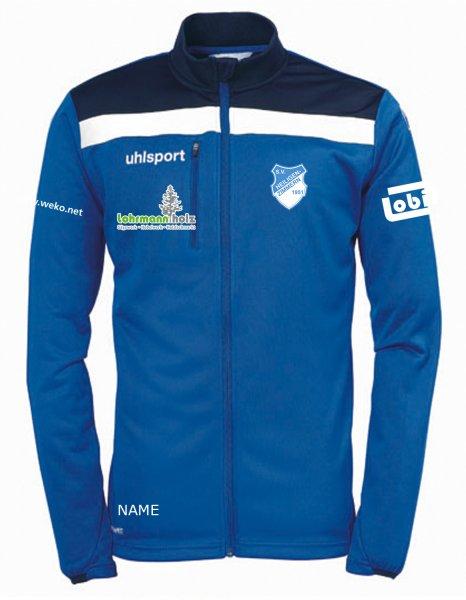 Offense 23 Poly Jacket SV Heiligenzimmern / Vereinswappen / 3 Sponsoren und Namenskürzel