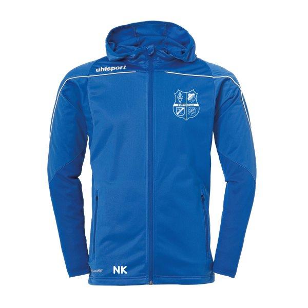 Track Hood Jacket Inklusive SGM Vöhringen / Vereinswappen / Sponsor und Namenskürzel