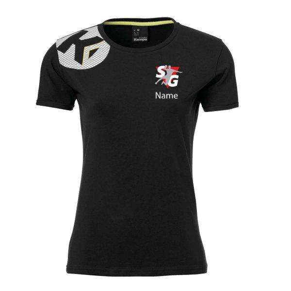 Core 2.0 T-Shirt Women Inklusive Vereinsnamen / Vereinswappen sowie Individueller Namen