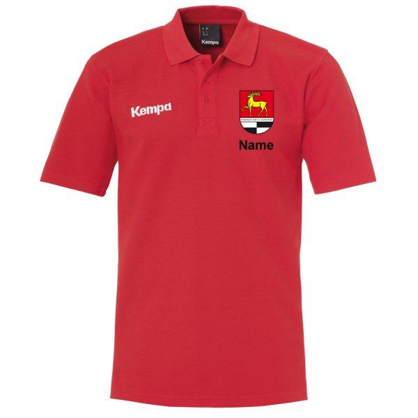 Classic Polo Shirt inklusive Vereinsnamen / Vereinswappen und individuellem Namen
