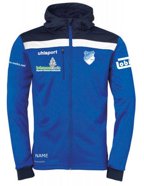 Offense 23 Multi Hood Jacket SV Heiligenzimmern / Vereinswappen / 3 Sponsoren und Namenskürzel