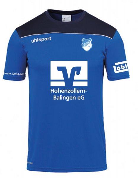 Offense 23 Poly Shirt SV Heiligenzimmern / Vereinswappen / 3 Sponsoren und Namenskürzel
